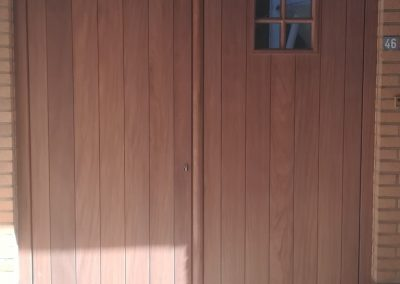 Renovatie houten deur